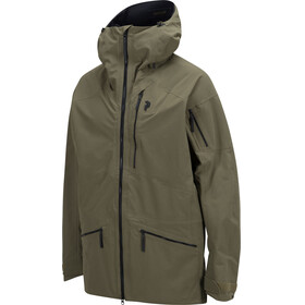 """Peak Performance M's Radical Jacket Soil Olive"""